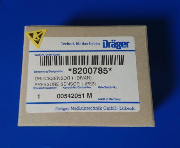 Drucksensor Divan Pressure Sensor Dräger 8200785 NEU