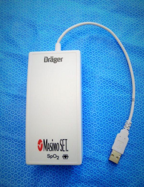 Dräger Infinity Masimo Set SpO2 SmartPod USB neu