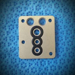 Dichtplatte (UGR) für Dräger Vapor 19.3 od. 19.1 NEU